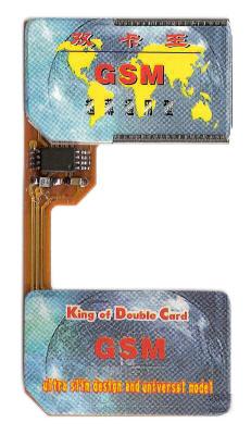 Digitaler Dual Sim Adapter