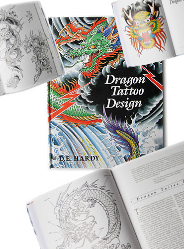 shopping books ed hardy dragon tattoo design tattoo. Black Bedroom Furniture Sets. Home Design Ideas