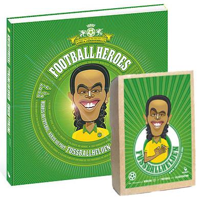 Fussballhelden - Kombi: Album und Postkartenbox