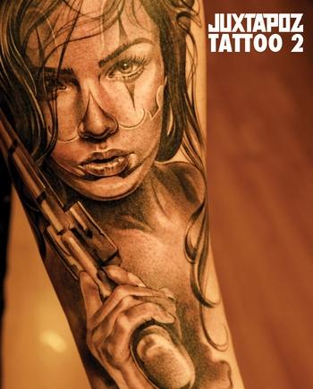 Pinup Tattoos on Juxtapoz Tattoo 2   Books   Klang Und Kleid   Tattoo   Buch