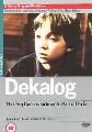 DEKALOG PART 1 (DVD)
