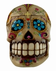 CANDY SKULLS BOX BROWN