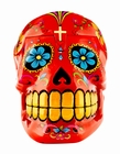 CANDY SKULLS BOX RED