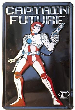 Blechschild - Captain Future