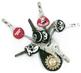 Schlüsselkappen