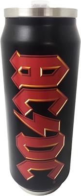 AC/DC - Trinkflasche in Dosenform