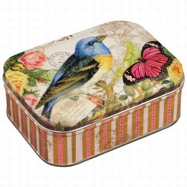 Blechdose - Nostalgia - Bird & Butterfly
