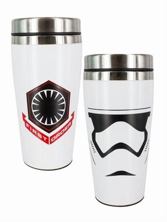 shopping m bel miniaturen first order stormtrooper reisebecher star wars. Black Bedroom Furniture Sets. Home Design Ideas