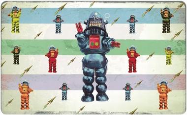 Frühstücksbrettchen - Roboter - Max Hernn