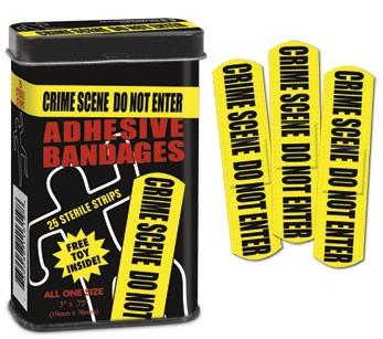 Crime Scene Pflaster Set