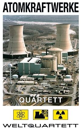 Quartett - Atomkraftwerke