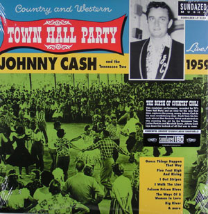JOHNNY CASH - Town Hall Party 1959
