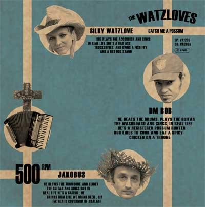 WATZLOVES - Catch Me A Possum
