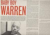 BABY BOY WARREN - Baby Boy Warren