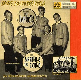 MERRELL AND THE EXILES - Desert Island Treasures