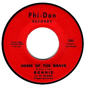 BONNIE AND THE TREASURES - Home Of The Brave