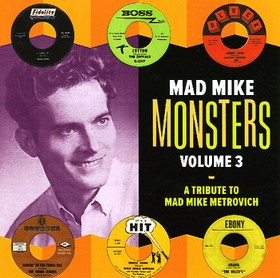 VARIOUS ARTISTS - Mad Mike Monsters Vol. 3