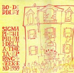 BO DIDDLEY - Spring Weekend 1959