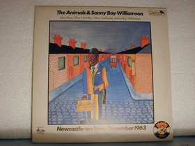 ANIMALS AND SONNY BOY WILLIAMSON - Newcastle-on-Tyne, December 1963