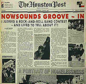VARIOUS ARTISTS - Houston Post -  Nowsounds Groove-In