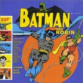 SUN RA - THE SENSATIONAL GUITARS OF DAN AND DALE - Batman And Robin