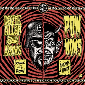 DAVIE ALLAN AND THE ARROWS - Rebel On The Run