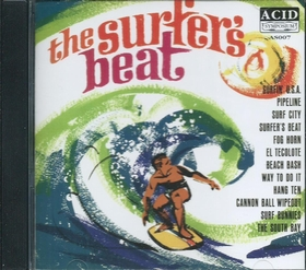 CALVIN COOL AND THE SURF KNOBS - The Surfers Beat