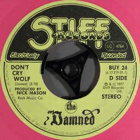 DAMNED - Don't Cry Wolf / One Way Love