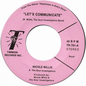 NICOLE WILLIS AND THE SOUL INVESTIGATORS - Let's Communicate