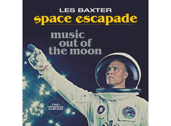LES BAXTER & His Orchestra - Space Escapade/Music Out Of The Moon