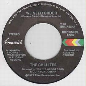 Chi-Lites - We Need Order