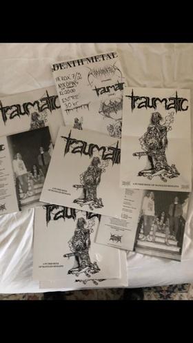 TRAUMATIC - A Putrid Reek Of Mangled Remains