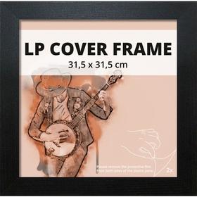 - LP Album Cover Rahmen 31,5 cm x 31,5 cm