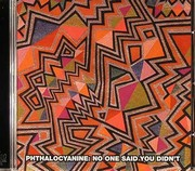 PHTHALOCYANINE - No One Said You Did't