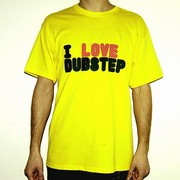 I Love Dubstep - T-Shirt (M)
