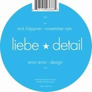 Error Error / Höppner - Design / November Rain