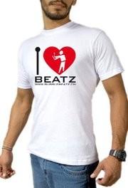 Bubble Beatz - I Love Beatz / Men / Grösse M / Weiss