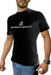Bubble Beatz - Logo Shirt / Men / Grösse L / Schwarz