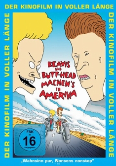 BEAVIS & BUTTHEAD MACHEN`S IN AMERIKA - Mike Judge