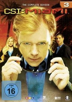 CSI: MIAMI - SEASON 3  [6 DVDS]