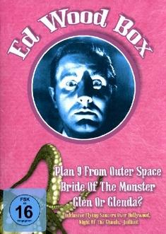 ED WOOD BOX  (OMU)  [3 DVDS] - Edward D. Wood
