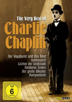 CHARLIE CHAPLIN - THE VERY BEST OF  [6 DVDS]