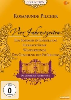 ROSAMUNDE PILCHER - VIER JAHRESZEITEN  [4 DVDS] - Rosamunde (Buch) Pilcher, Giles Foster