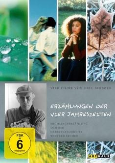 ERIC ROHMER - ERZÄHLUNGEN DER VIER ...  [4 DVDS] - Eric Rohmer