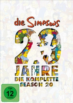 DIE SIMPSONS - SEASON 20  [4 DVDS]