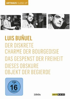 LUIS BUNUEL - ARTHAUS CLOSE-UP  [3 DVDS] - Luis Bunuel