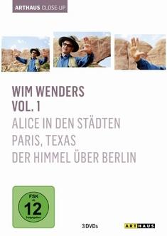 WIM WENDERS - ARTHAUS CLOSE-UP  [3 DVDS] - Wim Wenders