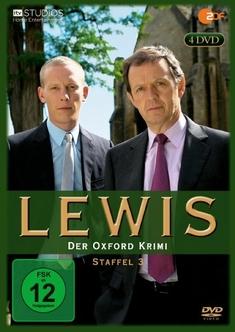 LEWIS - DER OXFORD KRIMI - STAFFEL 3  [4 DVDS] - Bill Anderson