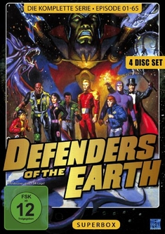 DEFENDERS OF THE EARTH - SUPERBOX  [4 DVDS]
