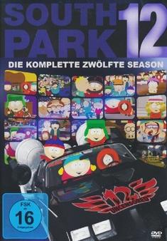 SOUTH PARK - SEASON 12  [3 DVDS]
